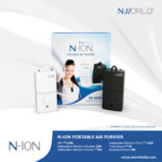 N-ION PORTABLE AIR PURIFIER